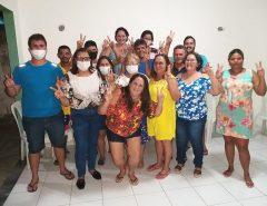 Rita de Cássia recebe apoio da Família Farias
