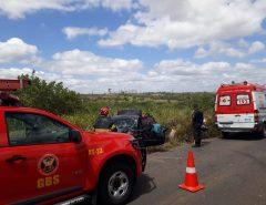 CBMRN atende ocorrência de acidente de trânsito na Grande Natal