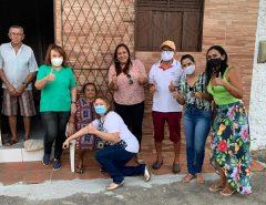 Liderança do Campo da Santa Cruz, Raquel, declara apoio à Marília e Ana Catarina
