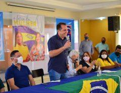 Kleber Rodrigues referenda a chapa Nilda e Elienai em Parnamirim