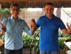O apresentador Salatiel de Souza declara apoio aos Meninos de Macaíba