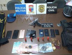 """Polícia Civil prende seis suspeitos em desdobramento da Operação """"Parabellum"""""""
