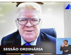 Ubaldo solicita recursos para instalação de redes de proteção na ponte Newton Navarro