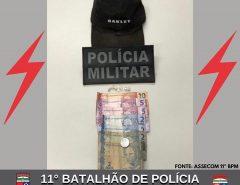 POLÍCIA MILITAR APREENDE DROGAS E CONDUZ ADOLESCENTE EM MACAÍBA
