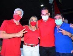 Norma Ferreira e Márcio Freire realizam maior convenção política de São José de Mupibu
