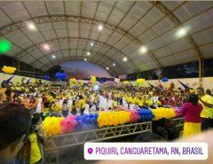 Canguaretama: Convenção do PSDB confirma Irmã Lila a prefeita e povo acaba indo prestigiar