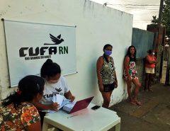 CUFA RN entrega Cartão Alelo Alimentação no Conjunto Manoel Dias