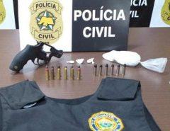 Polícia Civil fecha ponto de venda de drogas após operação em Macaíba