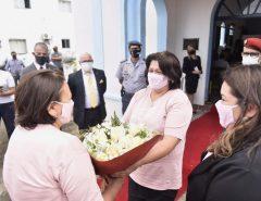 """Mulheres na PM: governadora participa de homenagem aos 30 anos da turma """"Pioneiras Potiguares"""""""