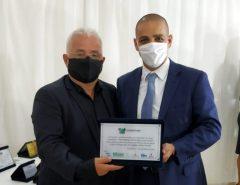 Delegado Normando Feitosa é homenageado por serviços prestados à segurança pública