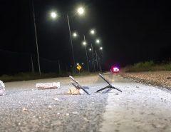 Grampos e pedras furam pneus de carros no acesso ao aeroporto de Natal e polícia suspeita de ação de assaltantes