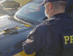 Homem é preso por porte ilegal de arma de fogo em Macaíba
