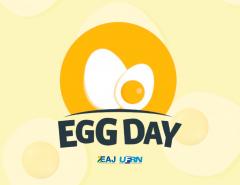 Egg Day: EAJ realiza evento sobre produção e consumo de ovo