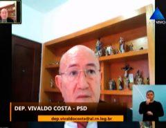 Vivaldo defende proibição de carreatas, passeatas e comícios durante pandemia