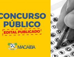 Edital de Concurso Público da Prefeitura de Macaíba com 631 vagas é publicado