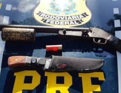 PRF apreende adolescente com arma de fogo em São Gonçalo do Amarante