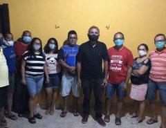 """EX-VEREADOR PEDRO VIEIRA E FAMÍLIA ESTÃO COM LUIZINHO E """"OS MENINOS DE MACAÍBA"""""""