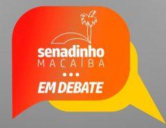 Programa Senadinho em Debate inicia ciclo de entrevistas com candidatos a prefeito de Macaíba