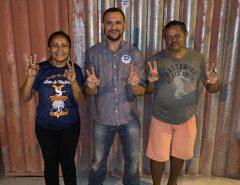 Presidente do Conselho Comunitário do Recanto Verde declara seu apoio