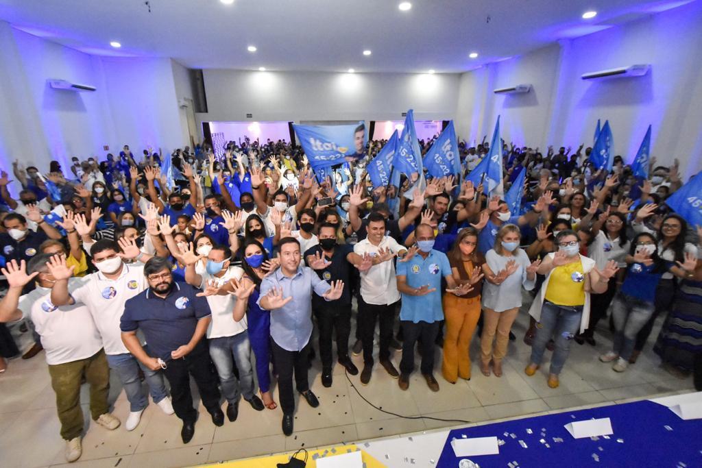 Ezequiel faz intensa mobilização ao lado do vereador Professor Ítalo, em Parnamirim, e fortalece nominata do PSDB