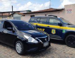 Quatro veículos são recuperados pela PRF em um único dia em quatro municípios do Rio Grande do Norte