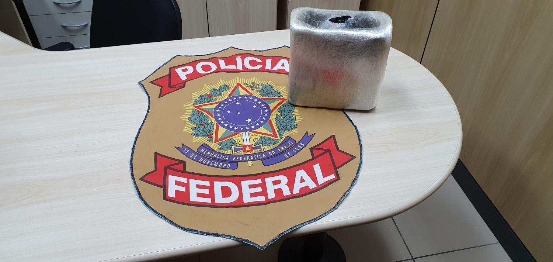 PF apreende cerca de 5 kg de cocaína remetida via postal