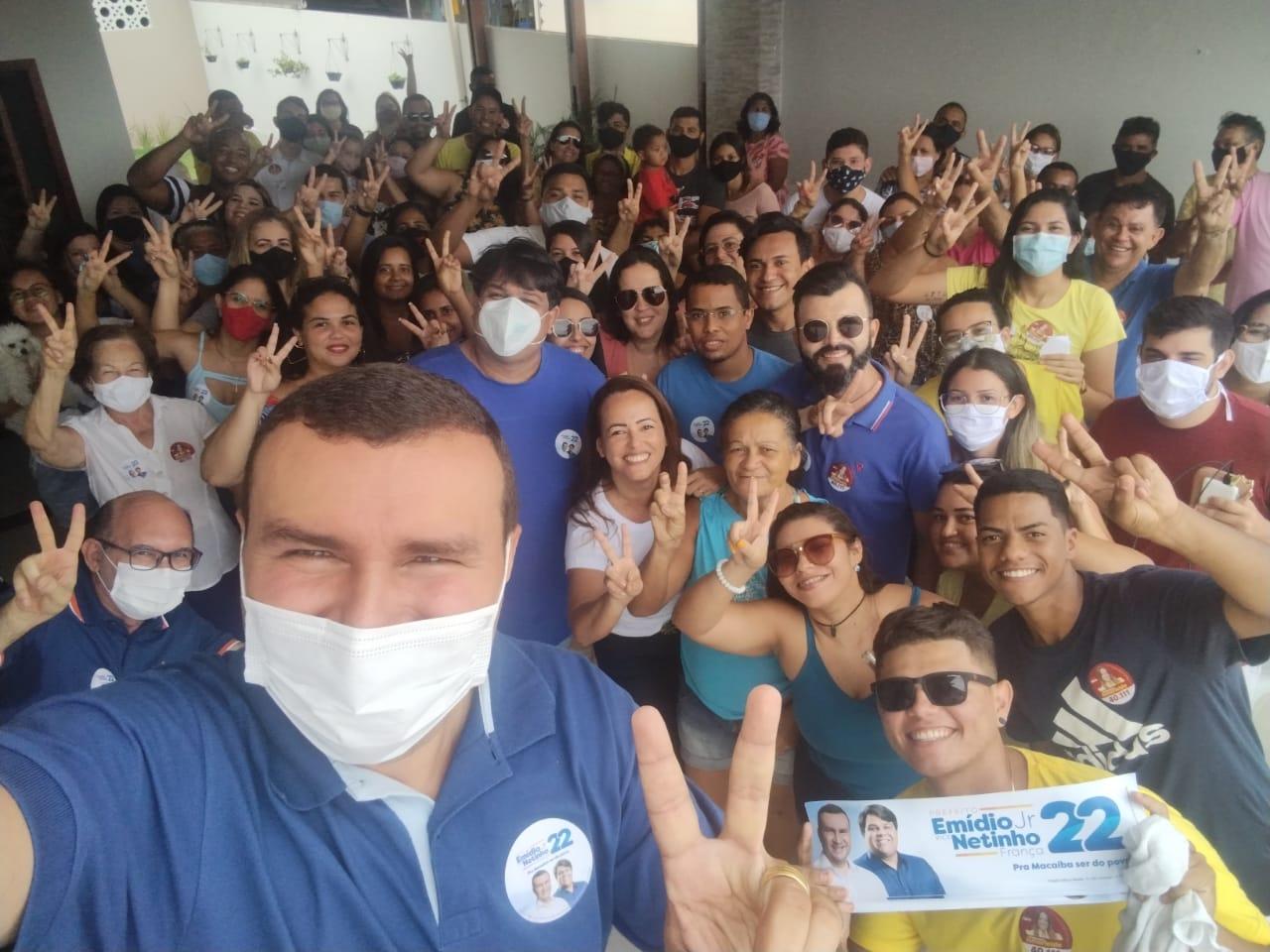 Ismarleide reúne apoiadores e reforça empenho na campanha para Emídio Júnior e Netinho França