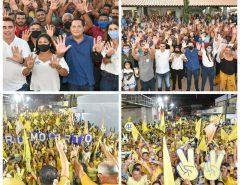 Na região Potengi, Ezequiel participa de grandes mobilizações do 45 em Ielmo Marinho e Barcelona