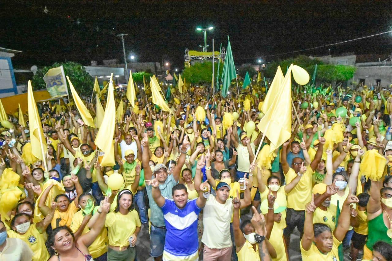 Ezequiel participa de mobilizações do PSDB em Rio do Fogo no Litoral Norte e em São Pedro, na região Potengi
