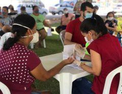 Teste de COVID em Macaíba