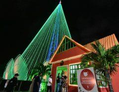 Casinha do Papai Noel é depredada e roubada em Natal