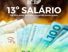 Prefeitura de Macaíba antecipa pagamento do 13°