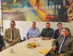 Em reunião com Emídio Júnior, deputado Beto Rosado (PP) garante a viabilidade de recursos para Macaíba