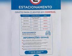 Supermercado Favorito em Macaíba, começará a cobrar estacionamento para clientes SEM compras, possívelmente a partir de 2021