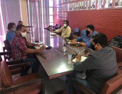 Secretário discute construção do Abatedouro Público de Macaíba