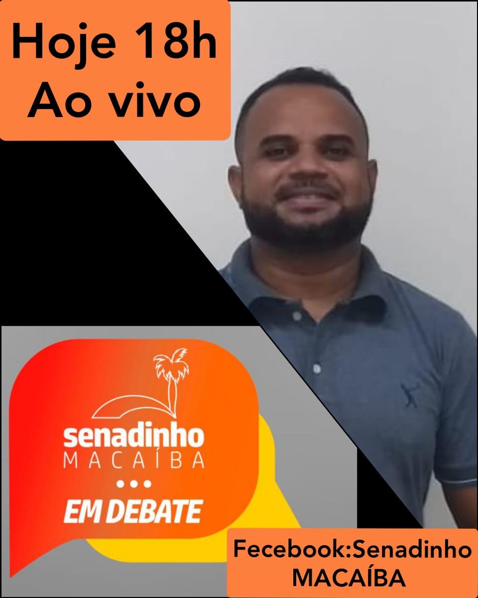 Senadinho em Debate entrevista o secretário de Agricultura, da Pecuária e da Pesca Cícero Militão nesta quinta-feira (28)