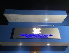 Sessão extraordinária na Câmara Municipal de Macaíba