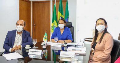 Governadora cobra ao MS vacinas para população indígena, profissionais da Educação e pessoas com deficiência