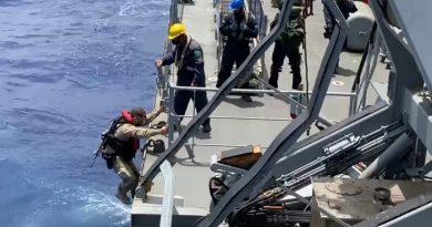 Polícia Federal e Marinha do Brasil realizam ação conjunta de cooperação internacional e apreendem embarcação com 2,2 ton de cocaína