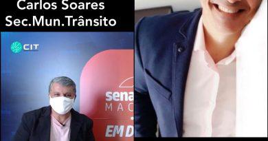 Senadinho em Debate entrevista o secretário de Trânsito e Transportes de Macaíba nesta quinta-feira (25)