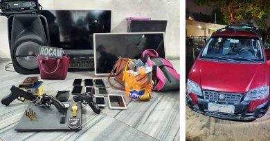 PM recupera veículo e pertences roubados após confronto no bairro Mãe Luíza, em Natal