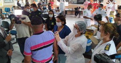 Agentes de segurança pública começam a ser vacinados contra Covid-19 no RN