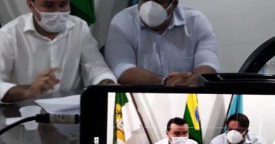 [VÍDEO] Confira a coletiva de imprensa dos 100 dias de gestão da Prefeitura de Macaíba