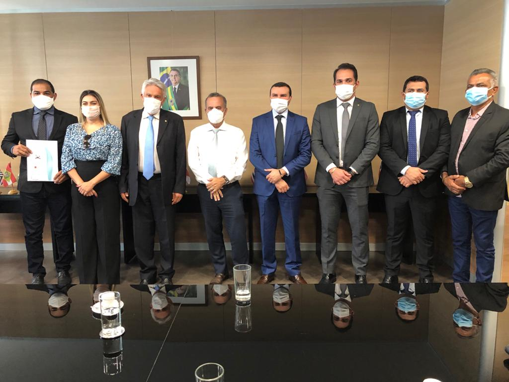 Deputado Kleber Rodrigues é recebido em Brasília pelos ministros do Desenvolvimento Regional e da Agricultura