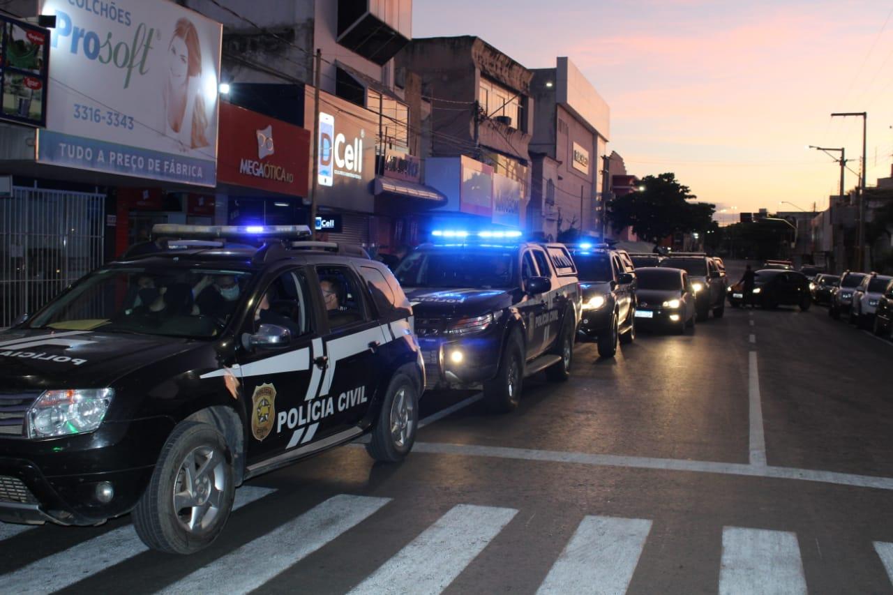 """Polícia Civil deflagra Operação """"Carcará"""" em Mossoró"""