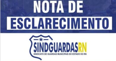 Sindguardas/RN esclarece que investigados em Lagoa de Pedras não são guardas municipais